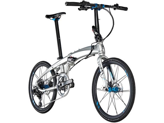 tern Verge X11 Foldecykel sølv (2019) | Foldecykler